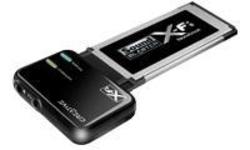 Creative Sound Blaster X-Fi Notebook