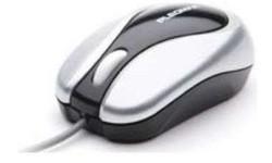 Samsung Stylish Mini Optical Mouse Black