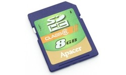 Apacer SDHC Class 6 8GB