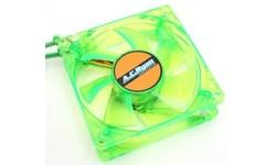 AC Ryan Blackfire4 UV LED Fan 80mm Green