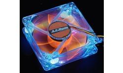 AC Ryan Blackfire4 UV LED Fan 80mm Blue/Orange