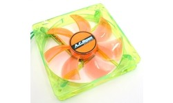 AC Ryan Blackfire4 UV LED Fan 120mm Green/Orange