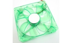 Akasa Quiet Bright Green Fan 120mm