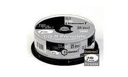 Intenso CD-R 52x 25pk Printable