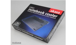 Akasa Libra Lightweight Laptop Cooler Black