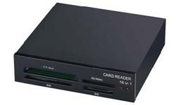 MS-Tech LU-165S Multi Card Reader Black