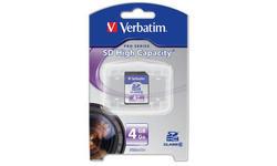 Verbatim SDHC Class 6 4GB