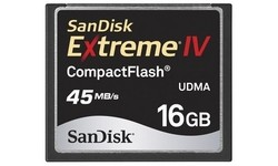 Sandisk Compact Flash Extreme IV 16GB