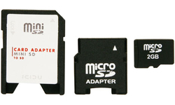 Icidu MicroSD 2GB + 2 adapters