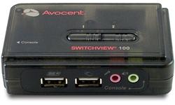Avocent SwitchView 100 2-port USB