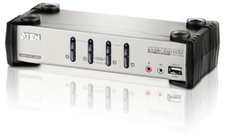 Aten 4-Port PS/2-USB VGA/Audio KVMP Switch with OSD