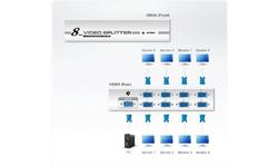 Aten 8-Port VGA Splitter (300MHz)