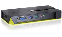 LevelOne 4-Port PS/2 KVM Switch with Audio