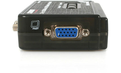 StarTech.com StarView 2 Port Mini USB KVM kit with Cables and Audio Switching