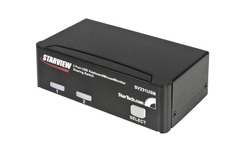 StarTech.com StarView 2 Port USB KVM Switch