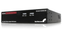 StarTech.com StarView 4 port Enhanced KVM Switch over IP