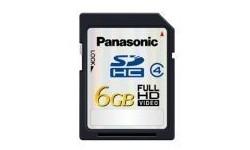 Panasonic SDHC Class 4 6GB