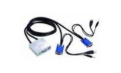PCT 2-Port Auto USB KVM Switch