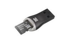 Sandisk MicroSDHC Class 2 16GB + USB Reader