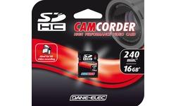 Dane-Elec SDHC High Speed Video 16GB