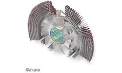 Akasa Low noise VGA Aluminium Radial Fin Cooler