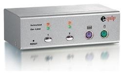 Equip Desktop KVM Switch 2 Port PS/2