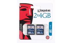 Kingston SDHC 4GB 2pk