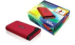 "Transcend StoreJet 2.5"" Mobile 320GB Red"