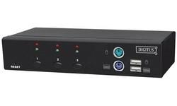 Digitus Audio Combo KVM Switch DVI 3-port