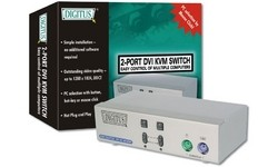 Digitus KVM Switch 1 User 2 PCs