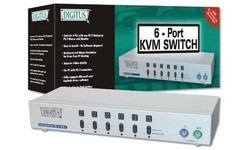 Digitus KVM Switch 1 User 6 PCs