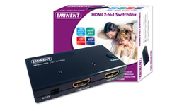 Eminent HDMI 2-to-1 SwitchBox
