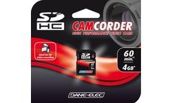 Dane-Elec SDHC High Speed Video 4B