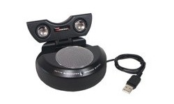 Amacrox USB 2.0 Notebook Speaker 2.1 Black