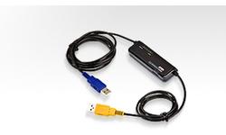 Aten Laptop USB VGA KVM Switch