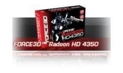 Force3D Radeon HD 4350 512MB
