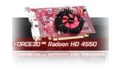 Force3D Radeon HD 4550 512MB