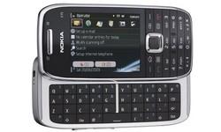 Nokia E75 Silver/Black