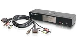 Iogear 4 Port Dual-Link DVI KVMP Switch