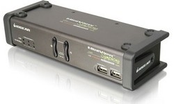 Iogear Miniview Symphony Multi-function KVM Switch with cables