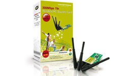 Conceptronic 300Mbps 11n Wireless PCI ExpressCard