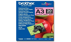Brother BP71GA3 Glossy Paper A3 20 sheets