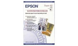 Epson Watercolour Paper Radiant White A3 20 sheets