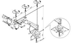 NewStar FPMA-D960 LCD/TFT Desk Mount