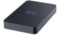 Western Digital Elements Portable 320GB Black