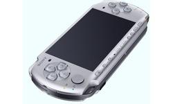 Sony PSP Mystic Silver + Monsterhunter Slim & Lite