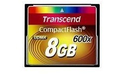 Transcend Compact Flash 600x 8GB