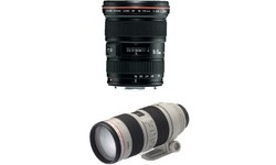 Canon EF 16-35mm f/2.8 L USM + EF 70-200mm f/2.8 IS