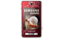 Samsung F480i Allure Touch Scarlet Red