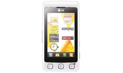LG KP500 Cookie White/Silver